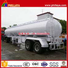 35 Cbm 2 Achsen Kohlenstoffstahl Fuel Tanker Semi Trailer