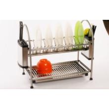 organizador de armazenamento de cozinha alta quaulty para louças de prato