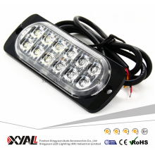 Car Light led thin 12LED 36W LED warning strobe light Flashing Lamp LED 12V LED Emergency Light
