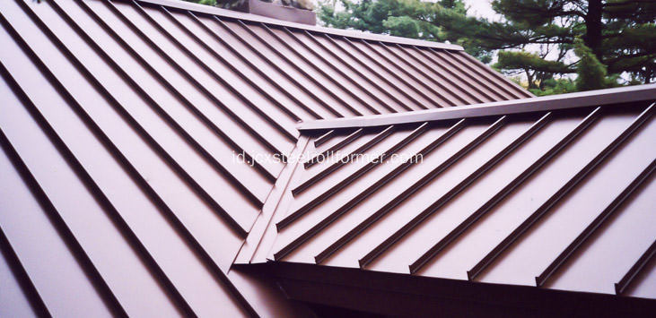 Copper Standing Seam Roof Roll Bekas