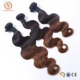Unprocessed 8A Grade Human Hair Weaving Virgin Malaysian Ombre Hair Extensions Hair Bundles