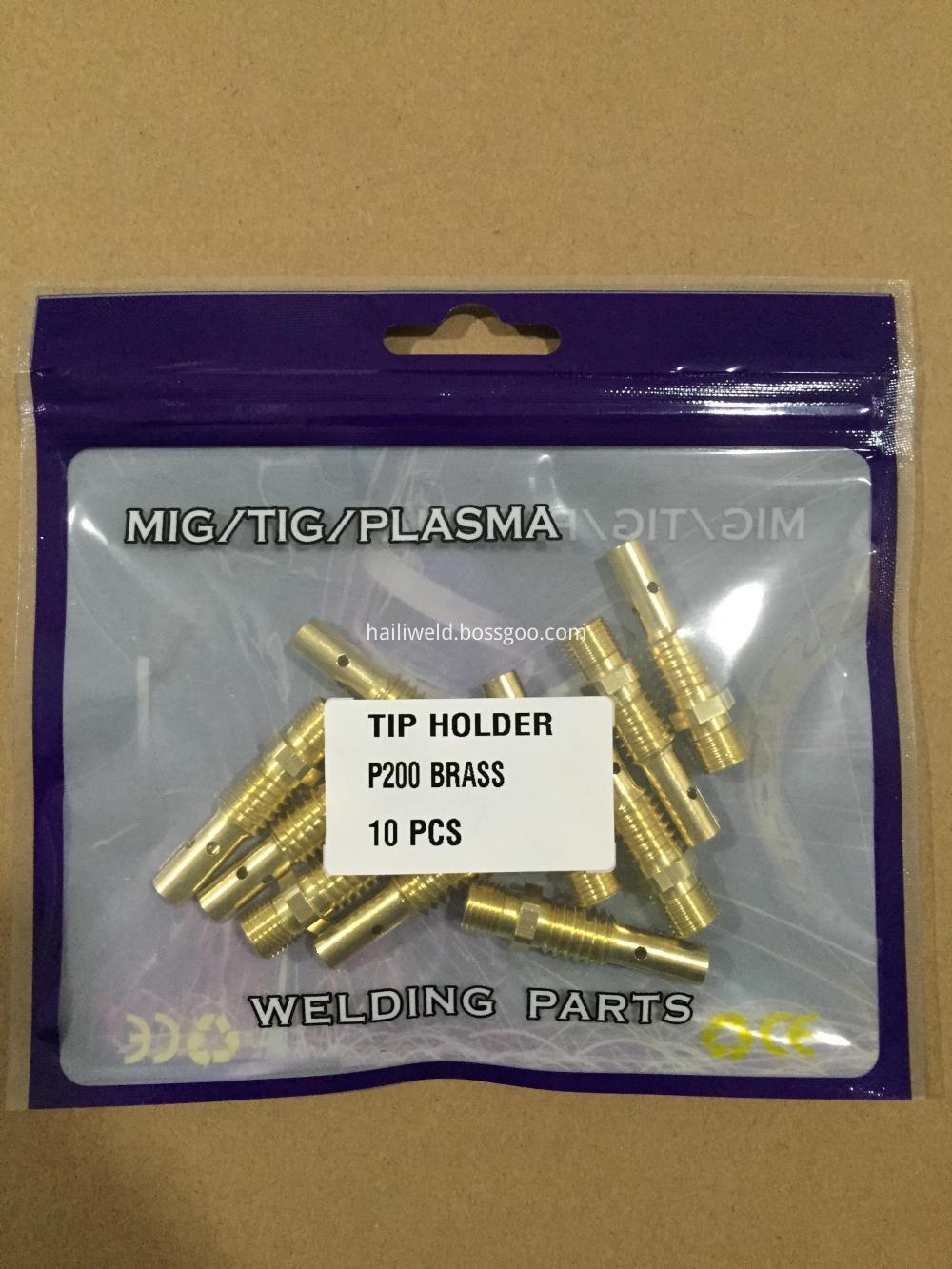Tip Holder P200 Brass