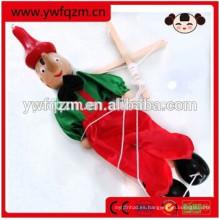 marioneta de madera marioneta de Pinocho