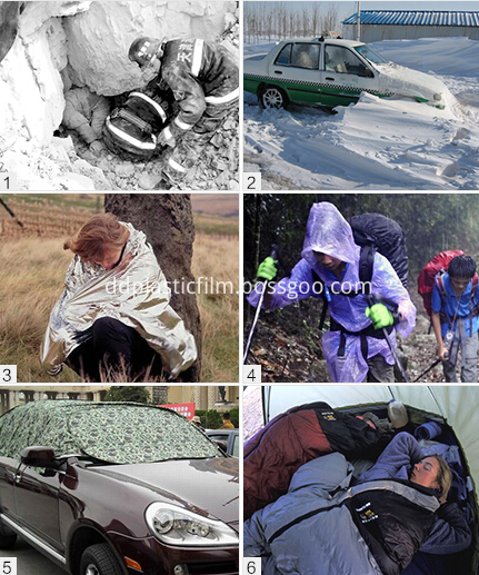 Emergency rescue blanket (52)