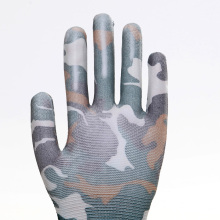 New Camouflage Pattern Design Work Protective Gloves