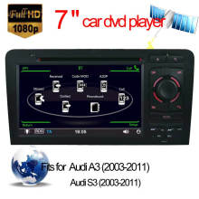 Coche especial DVD GPS para la navegación de Audi A3 Audi S3 con la función de la pantalla táctil de Bluetooth / Radio / RDS / TV / Can Bus / USB / iPod / HD (HL-8796GB)