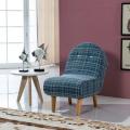 Wooden Legs Single Lounge Sofa Chair Stool