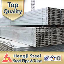 Galvanisierter quadratischer Hohlschnitt Fabrik in Tianjin