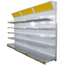 ISO Standard Gondola Supermarket Display Shelf with Light Box Available (YD-M12)