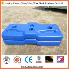 UV5 Oberflächenbehandlung Temp Zaun Basis mit Beton