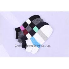 Moda homens algodão esporte meias feitas de algodão penteado