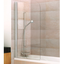 Curved Bath Screen Bathtub Shower Enclosure for Bathroom