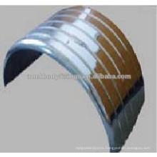 Stainless steel mudguard / fender for heavy truck 112008