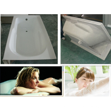 """60"""" X 32"""" Alcove Bath with Integral Apron, Tile Flange and Right-Hand Drain"""