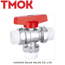 Three Way PP-R Connection Brass Thermostatic Radiator Valve