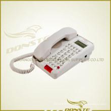 Черный и белый офисный телефонный аппарат