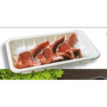 Contenedor de empaque por encargo hecho a la medida de la termoformación de la presión en línea para la carne fresca y los mariscos