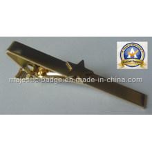 Customized Plating Gold Star Tie Bar (MJ-Tie bar-001)