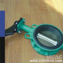 API509 Cast & Ductile Iron Wafer Tipo Concêntrico Válvula Borboleta