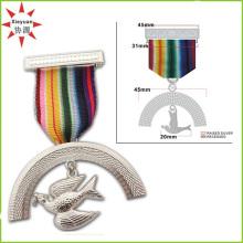 Médaille militaire d'officier de cuivre de haute qualité