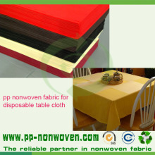PP Spunbond Non Woven Table Cover Fabric
