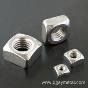 Hex brass nut Stainless steel square nuts