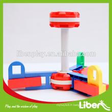Vente chaude des enfants intelligents jouets de blocs de construction en plastique LE.PD.070