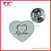 Custom Heart Shape Pin Badge for Promational Gifts
