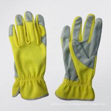 Microfaser Palm Ungefüttert Mechaniker Handschuh-7224