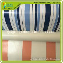 Beschichtete Streifen-PVC-Plane