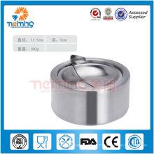 Wholesale cendrier avec couvercle / cendrier public en métal