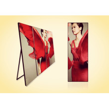 Best Price for for Indoor Led Iposter Mirror Screen for Advertising Low Power Consumption export to Poland Factories