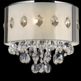 China luxurious G9 crystal wall sconce with Zhongshan supplier
