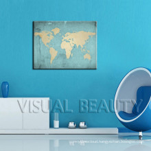 World Map Wall Printed Wall Sticker