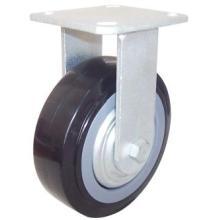 Roulette de PU fixée (noir)