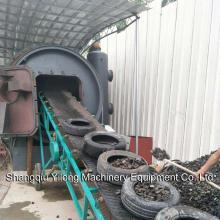 Productos de proceso de pirólisis de reciclaje de neumáticos