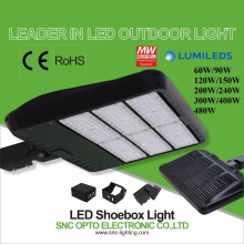 CE ROHS LED Parking Lot shoebox Light 60w to 480w corrosion proof lighting
