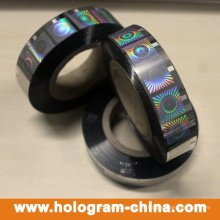 Silver Security Roll estampado en caliente de holograma