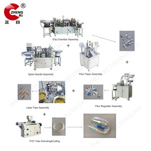 Factory making for Medical Infusion Set Production Line Automatic Disposable I.V Set Assembly Line export to South Korea Importers