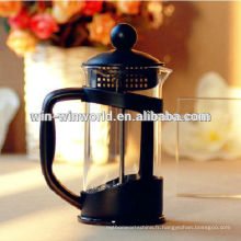 Presse française de café en plastique adaptée aux besoins du client de la nouveauté 1000ml de FDA