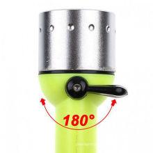 Online-Shop Tauchen Taschenlampe 200LM xpe 3W LED wasserdichte Taschenlampe Unterwasser-Lampe