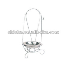 Silver color thick iron Hookah accessories 2015 for charcoal