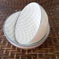 Keramik-Obstschale, Porzellan-Suppenschüssel-Set