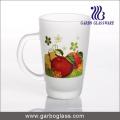 Decal Glass Mug/Cup, Printed Glass Mug/Cup, Imprint Glass Mug (GB094212-SG-102)
