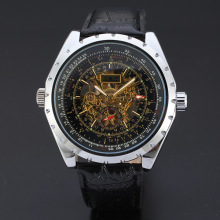 diamond master mechanical watch with ritating dial