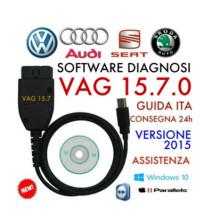 Cable de diagnóstico de VAG Kkl COM 15.7.0 para Audi / Seat / VW autos
