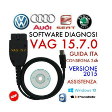 Diagnostic Cable VAG Kkl COM 15.7.0 for Audi / Seat / VW Cars