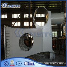 customized dredge bow coupling installation for TSHD (USB9-001)