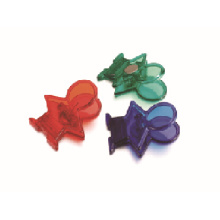 Human shape magnetic plastic clip with low price good quality