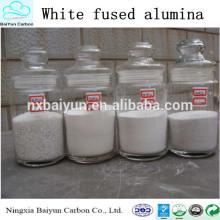 Vente chaude d'oxyde d'aluminium Bonne qualité avec prix concurrentiel blanc fondu d'oxyde d'aluminium